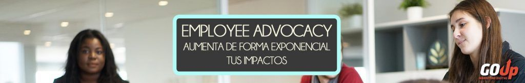 Banner Employee Advocacy para Go Up Blog