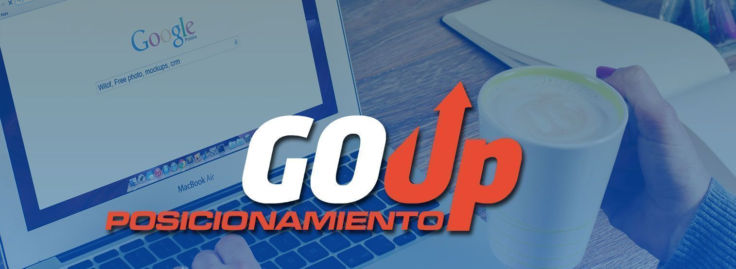 Portada Posicionamiento Web Go Up Marketing Digital