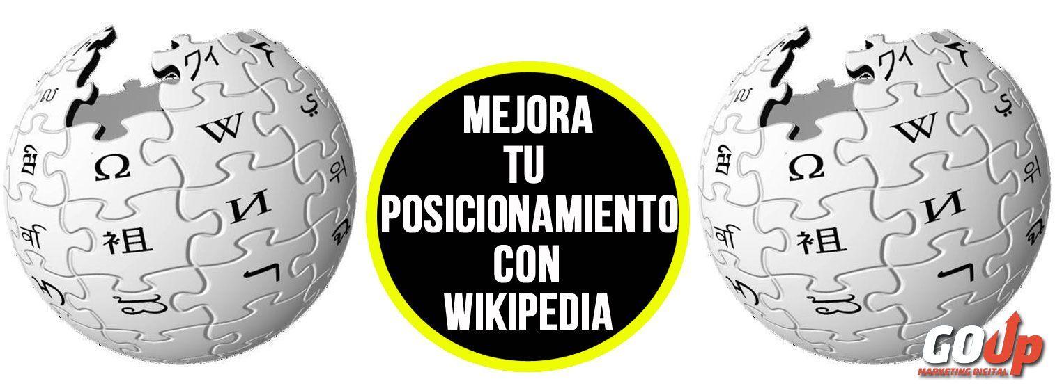 Portada artículo Posicinamiento Wikipedia Go Up Blog